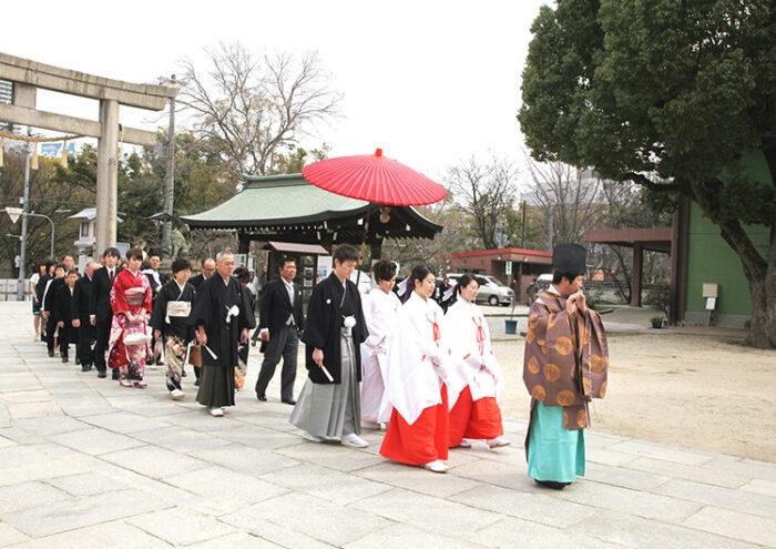 生國魂神社 結婚式プラン(ライブフォト付)