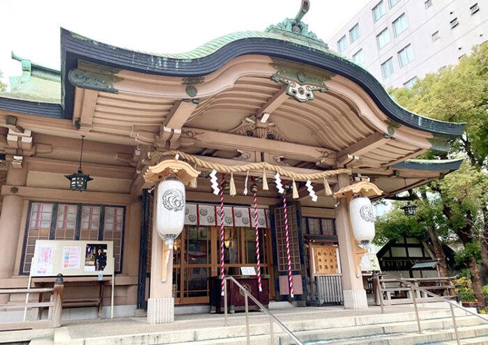 坐摩神社 結婚式プラン(ライブフォト付)