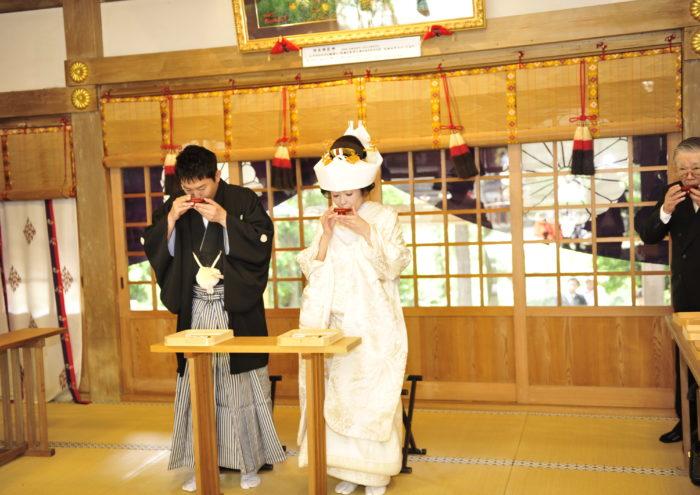 枚岡神社 結婚式プラン(ライブフォト付)
